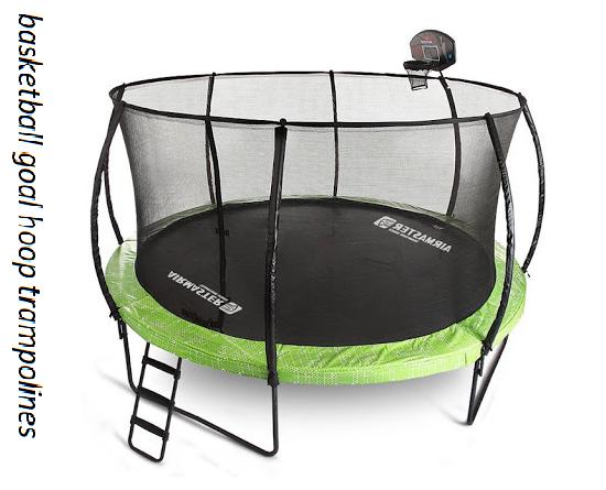 basketball goal hoop trampolines