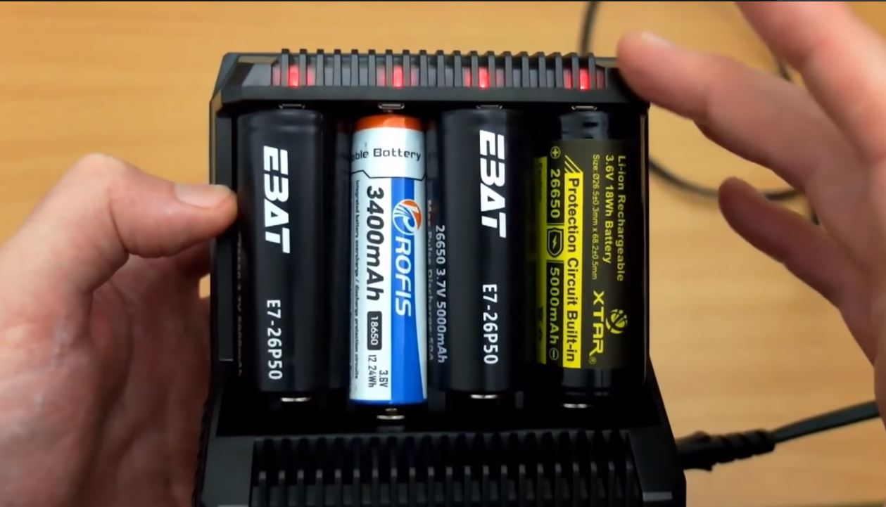 Best 18650 Battery Charger