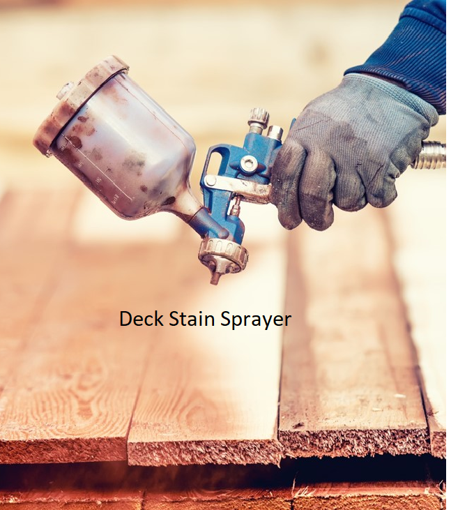 Deck Stain Sprayer