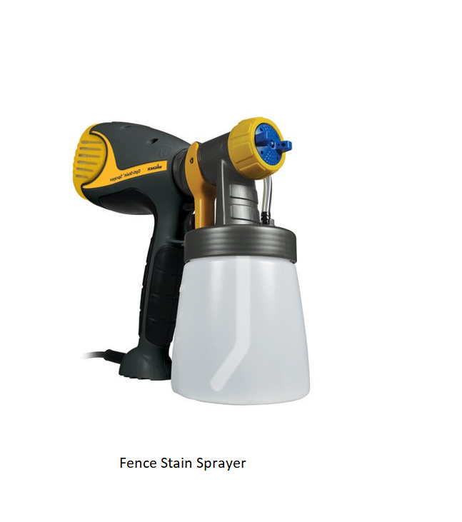 Fence Stain Sprayer